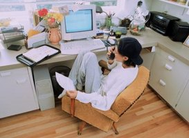 a home office should be comfortable organized and productive arrange office furniture