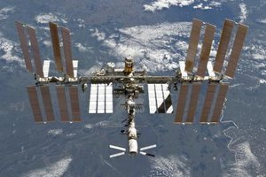 From Earth, the ISS looks like a fast-moving plane.
