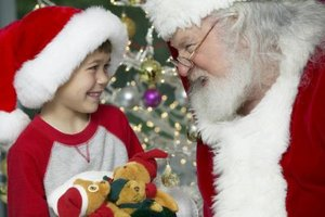Encourage your child to behave for Santa.