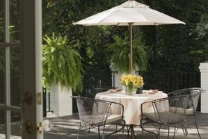 How to Make Your Own Patio Furniture on a Budget