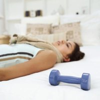 Exercise while in bed to burn fat.