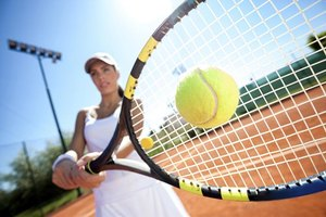 Tennis professionals expand the profile of their sport.