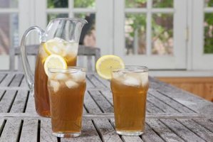 Add the frozen lemon cubes in iced tea for a fresh twist.