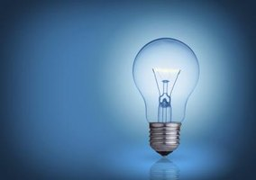 If you know the wattage of your light bulb, you can figure out how many amps it is drawing.