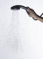 A shower head on a hose is a relatively inexpensive feature for a walk-in shower that adds extra usability.