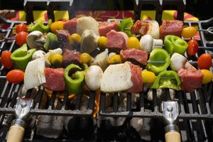 Grilled vegetables are made out of hydrocarbons and absorb carbon from flames as they cook.