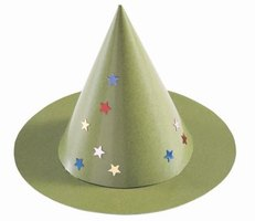 Use paper spikes to make party hats and other crafts.