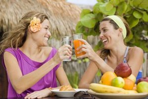 Powdered juice supplements replace fresh fruit and juices.
