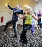 Zumba Fitness classes provide a cardio burn.