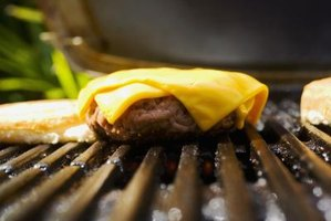 Add cheese to a patty about 1 or 2 minutes after you flip it.
