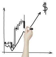 Long wicks on forex candlestick charts indicate the range of price variance.