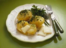 Make a new dish with your leftover boiled potatoes.