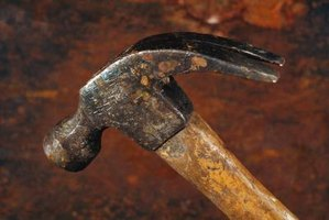 Claw hammers are one of the basic tools in the carpenter's chest.