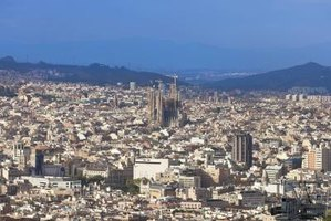 Barcelona's cityscape tempts travelers.