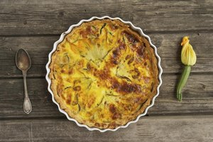 Eat quiche hot or cold.