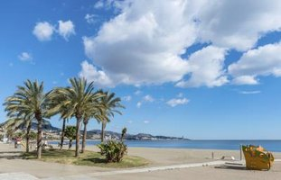 The famously balmy beaches of the Costa del Sol attract tourists and expatriates alike.