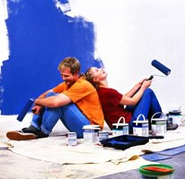 You can use exterior paints indoors, but interior paints usually produce less chemical emissions.