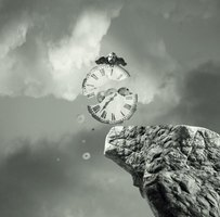 Metaphysics deals with explaining broad notions such as time.