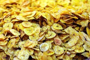 Banana chips can be flavored to be savory, spicy or sweet.