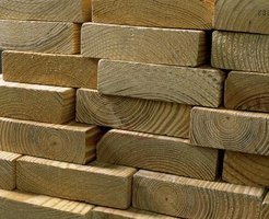 Lumber comes in many different sizes and grades.