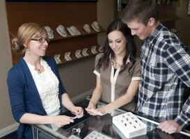 Jewelry sales representatives must possess strong customer-service skills.