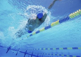 Some swimmers only wear nose clips during the backstroke.