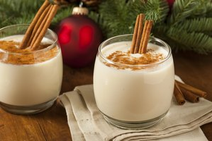 Eggnog can serve as a dessert or a holiday brunch accompaniment.
