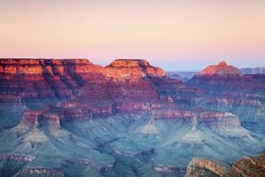 Visit the Grand Canyon during the spring for a more tranquil experience.