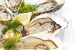 Oysters provide high amounts of zinc.