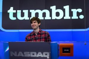 Tumblr's Customize mode will create a new page of sorted posts.