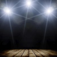 Light up the stage at a community theater performance.