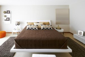 A modern bedroom designed with artful and purposeful minimal style.