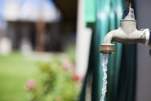 You can pressure-test your water system from an outdoor spigot.
