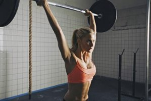 Getting that barbell above your head creates explosive strength.