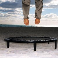 Rebounders are good for indoor or outdoor exercises and are fun for anyone.