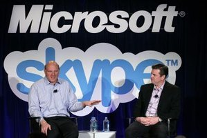 Skype was purchased by Microsoft in May of 2011.