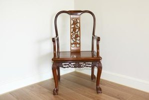 Luxury oriental-style furniture is commonly made from rosewood.