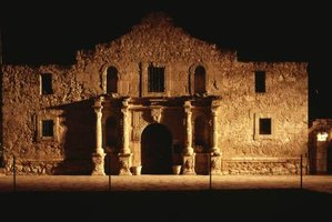 The Alamo is one of the most famous tourist attractions in San Antonio.