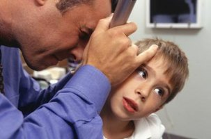 A visit to the pediatrician can become necessary with certain ear problems.