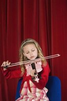 Learning to play the violin takes time.