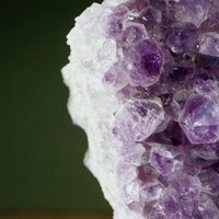 Amethyst is one of several gemstones mined in Arizona.