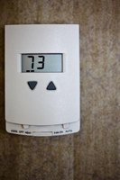 Make sure the air conditioner thermostat is set to a temperature below the current air temperature.