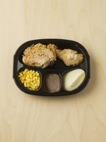Save the plastic trays from prepared frozen meals to create homemade versions.