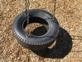 Lay at least a minimum of 9 inches of mulch under playground equipment.