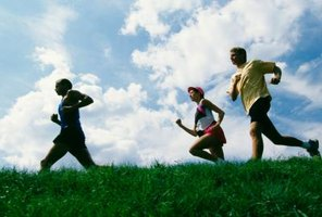 Jogging with a group can help improve your commitment to the activity.
