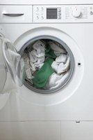 A washing machine is an example of a machine powered by an electric motor.