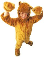 Adding ears to a hoodie or one-piece pajama suit is an easy way to make an animal costume.