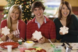 Ring in any holiday season with a cookie party for your teens.
