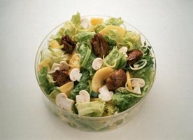 Chicken livers add flavorful depth to a salad of mixed greens.