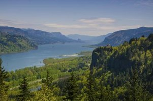 The Columbia River Gorge can be viewed by visitors to Gorge Amphitheatre.